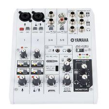 YAMAHA AG06 mixer usb 6 canali interfaccia audio x broadcasting podcasting live