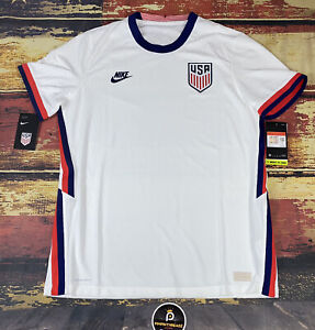 $165 Nike Vaporknit TEAM USA Soccer Authentic Jersey 2021 FIFA World Cup Mens L