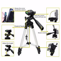 Mini Adjustable Camera Camcorder Tripod Stand Mount Holder For Cell Smart Phone