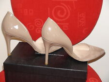 French Connection Ladies Pumps Leather Upper size 10 Hazelwood Solid  Heel 4 in