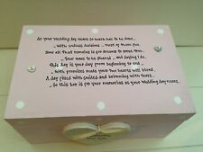Shabby Personalised Chic Bride To Be EXTRA LARGE Gift Memory Box
