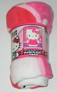 MadieBs Hello Kitty Fleece Blanket for Baby or Nursery New