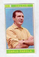 figurina - CAMPIONI DELLO SPORT PANINI 1967/68 - NUMERO 203 CALCIO PAROLA