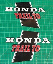 1972 72' Honda CT-70 CT70 HK1 Main Frame trail decals, stickers free shipping