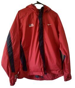 Nike USA Track and Field XL Team Rain Jacket