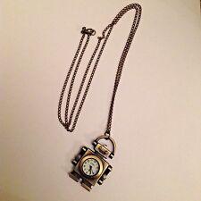 Reloj Robot en Cadena Collar