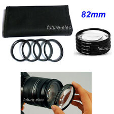 82mm 82 Close-up Close up Filter Macro Lens Lenses +1 +2 +4 +10 For Canon Nikon