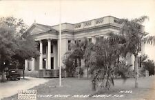 1930's RPPC Glades Couny Court House Moore Haven FL