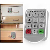 Keyless Digital Door Lock Electronic Keypad Security Password Cabinet Code Locks