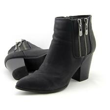 G By Guess Shayla 2 Women US 8 Black Ankle Boot Pre Owned  1094
