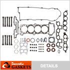 Fits 95-99 Nissan Sentra 200SX 1.6L DOHC Head Gasket Set Bolts GA16DE