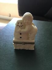 "Snowbabies Collectible- ""I Love You"" Hinged Box"