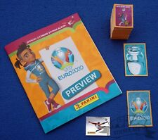 PANINI Euro 2020 Preview, complete loose set + empty album