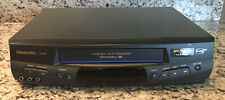 New listing Panasonic Vhs Vcr Video Cassette Recorder Pv-8451 Tested *See Description*