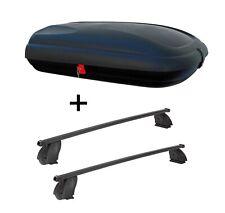 Dachbox VDPBA320L carbonlook+Dachträger K1M für Citroen Nemo Van ab 08