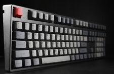 108 Keys Black Gray Dolch Dye-subbed PBT Keycap Set For Cherry MX Keyboard