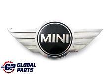 BMW Mini Cooper R50 R52 Frente Insignia Capó Capucha Emblema Logo Cromo 7026184