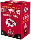 2019 Panini Instant Kansas City Chiefs Super Bowl LIV Champs Complete Card Set