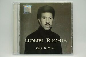 Lionel Richie - Back To Front  (Best Of) CD Album. Brand New Sealed.