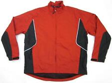 Sunice Golf Storm Full Zip Jacket Water Wind Resistant Red Black Gray Sz XL