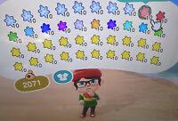 Animal Crossing New Horizons Sternensplitter Pack (Star Fragments) 💫