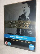 Need for Speed SteelBook [Blu-ray: B, 3D/2D, Entertainment Store Exclusive] (UK)