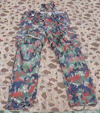 Original CH Schweizer Armee Hose Feldhose mit Hosenträger