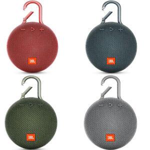 💎🎵JBL Clip 3 Speaker Waterproof Portable Wireless Bluetooth Rechargeable🎵💎