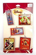 MUPPET Disney Christmas Holiday Circus ORNAMENT Kermit Fozzie Animal Gonzo Rowlf