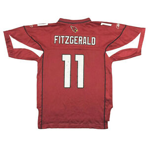Arizona Cardinals Youth Jersey Larry Fitzgerald Reebok On Field Football Kids L