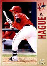 2013 Harrisburg Senators Grandstand #10 Rick Hague Spring Texas TX Baseball Card