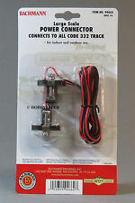 BACHMANN BIG HAULERS POWER CONNECTOR LARGE G SCALE code 332 track terminal 94662