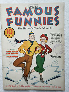 Famous Funnies #55 (Feb. 1939, Eastern Color) [VG+ 4.5]