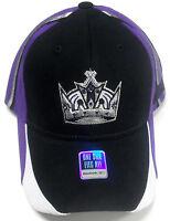 NHL Los Angeles / LA Kings Vintage Throwback Reebok Flex Fit OSFA NEW Hat Cap