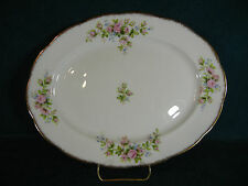 "Royal Albert Moss Rose Hampton Shape 12 1/2"" Oval Serving Platter"