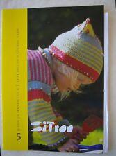 Child's Pattern Book Knitting Zitron Trekking Pro Natura 8 Patterns