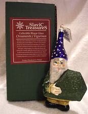 Emerald Elf,Slavic Treasures,Poland,Christma s,Ornament,Blown Glass,Mib,Ltd.w/Tag