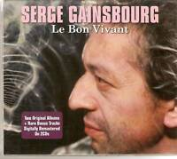 SERGE GAINSBOURG - LE BON VIVANT 2 CD BOX SET