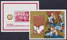 DDR bloque 78 - 79 **, fantástico lot bloque 1984, correos frescos, mnh