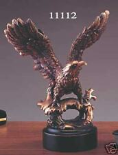 "Bronze Eagle Sculpture Statue 7""W x 8""H NEW"