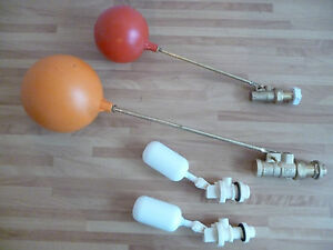 Plastic Brass Float Ball Valve Ball Cock Water Tank Float Valve Ball Cock