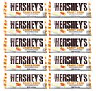 909642 10 x 43g BARS OF HERSHEYS HALLOWEEN CANDY CORN CHOCOLATE! WITH CANDY BITS