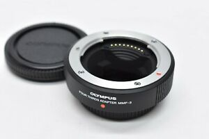 [ALMOST UNUSED] OLYMPUS MMF-3 Four Thirds Adapter for Four Thirds Lenses JAPAN