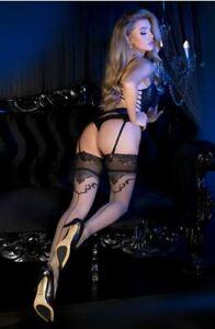 Ballerina 493 Sheer Stockings Thigh High Hold Ups
