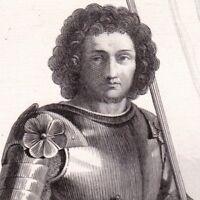 Portrait XIXe Gaston de Foix Duc de Nemours Vicomte Narbonne Bataille Ravenne