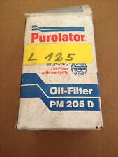 Purulator PM 205 D  Ölfilter Oldtimer Mercedes W201 W123 (/8 W114 W115 ?) NOS