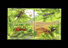 Ants Brazil leafcutter, fire ant, weaver ant, and trap-jaw Mi 4089-92 Yt 3283-86