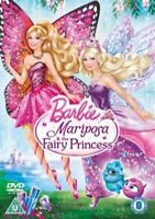 Barbie Mariposa and the Fairy Princess [DVD] [2013], Very Good DVD, ,