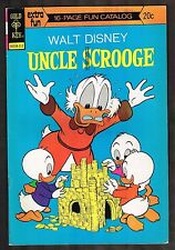 "Uncle Scrooge #109 ~ ""Land Beneath the Ground"" ~ 1973 (8.0) WH"