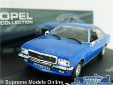 OPEL COMMODORE B GS/E MODEL CAR 1:43 SCALE BLUE IXO COUPE COLLECTION K8